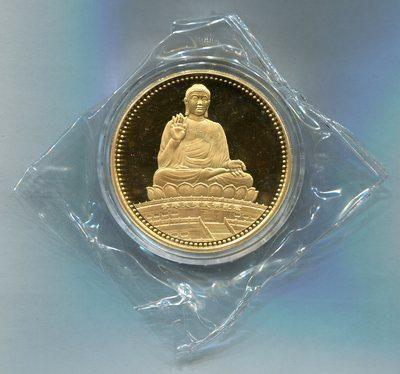 1990年天坛大佛-天坛大佛像5盎司金章
