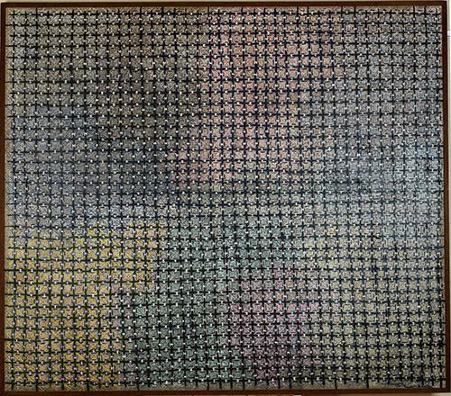 丁乙 十示系列 油彩画布 140×160cm
